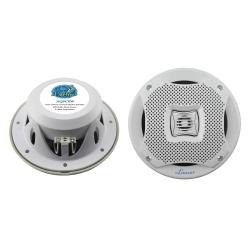 "Lanzar AQ5CXW 400W 5.25"" 2-Way Marine Speakers"