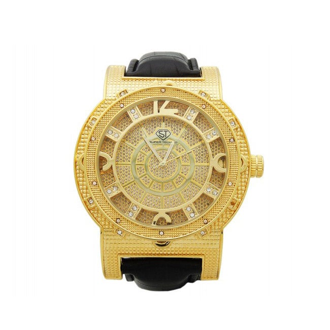 Joe Rodeo Super Techno Men's Diamond Watch - Thumbnail 0