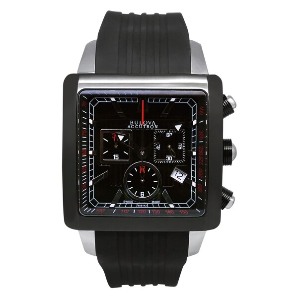 Bulova Accutron Men's 65B142 Swiss Made Chronograph Watch