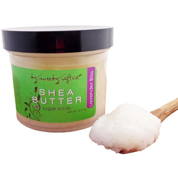 Lavender Bliss Natural Exfoliating 4.5 oz Sugar Scrub