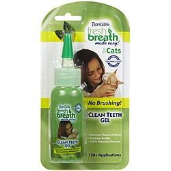 Tropiclean Fresh Breath for Cats 2-ounce Clean Teeth Gel