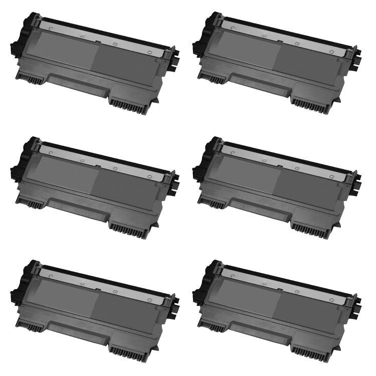 Brother TN450 Remanufactured Black Toner Cartridges (Pack of 6) - Thumbnail 0
