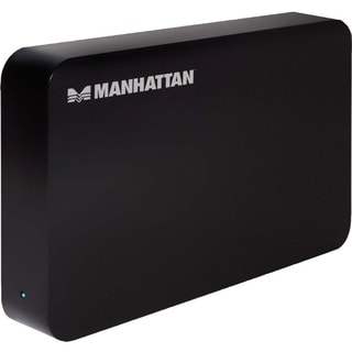 "Manhattan SuperSpeed USB, SATA, 3.5"" Drive Enclosure, Black"