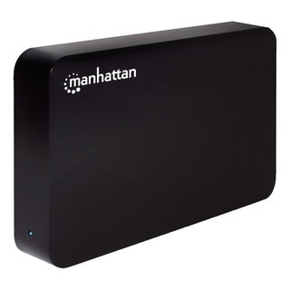 "Manhattan Hi-Speed USB, SATA, 3.5"" Drive Enclosure, Black"