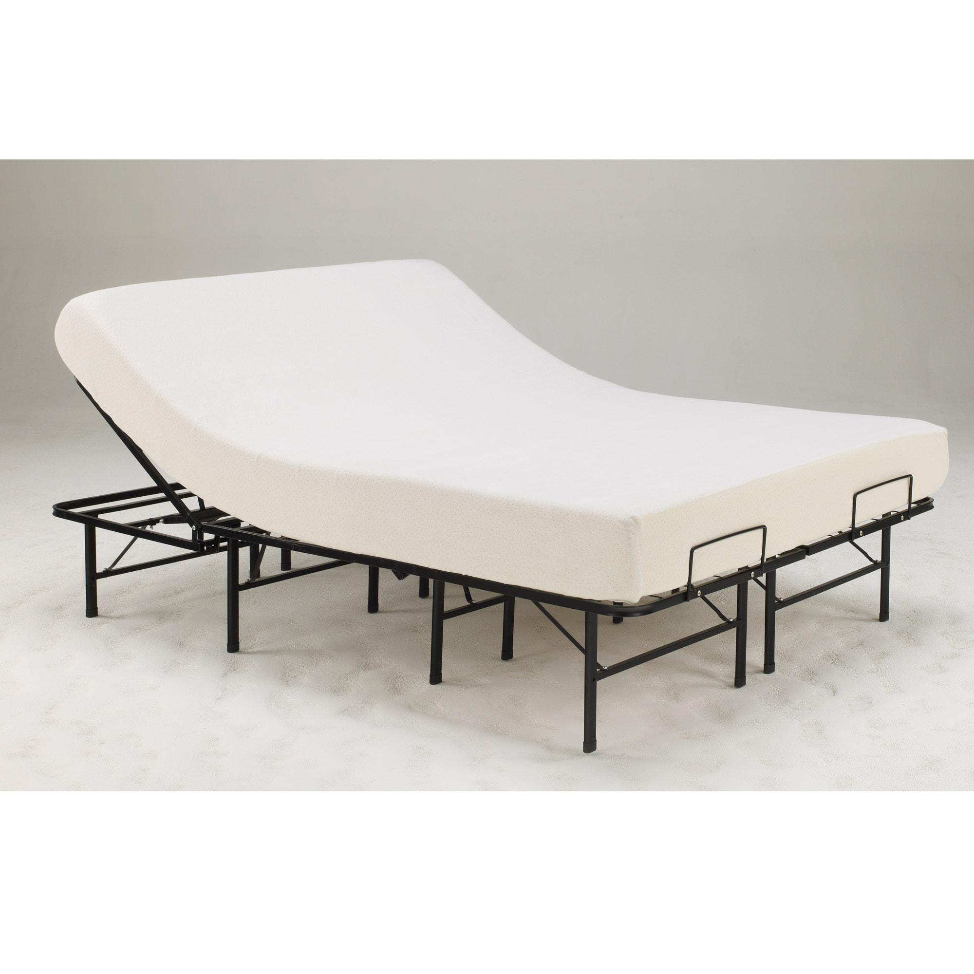 Posture Support 14-inch Twin-size Adjustable Platform Frame
