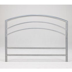 Sleep Sync Arch Flex California King Silver Metal Headboard