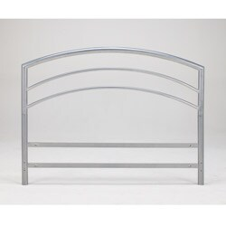 Sleep Sync Arch Flex Twin Silver Metal Headboard