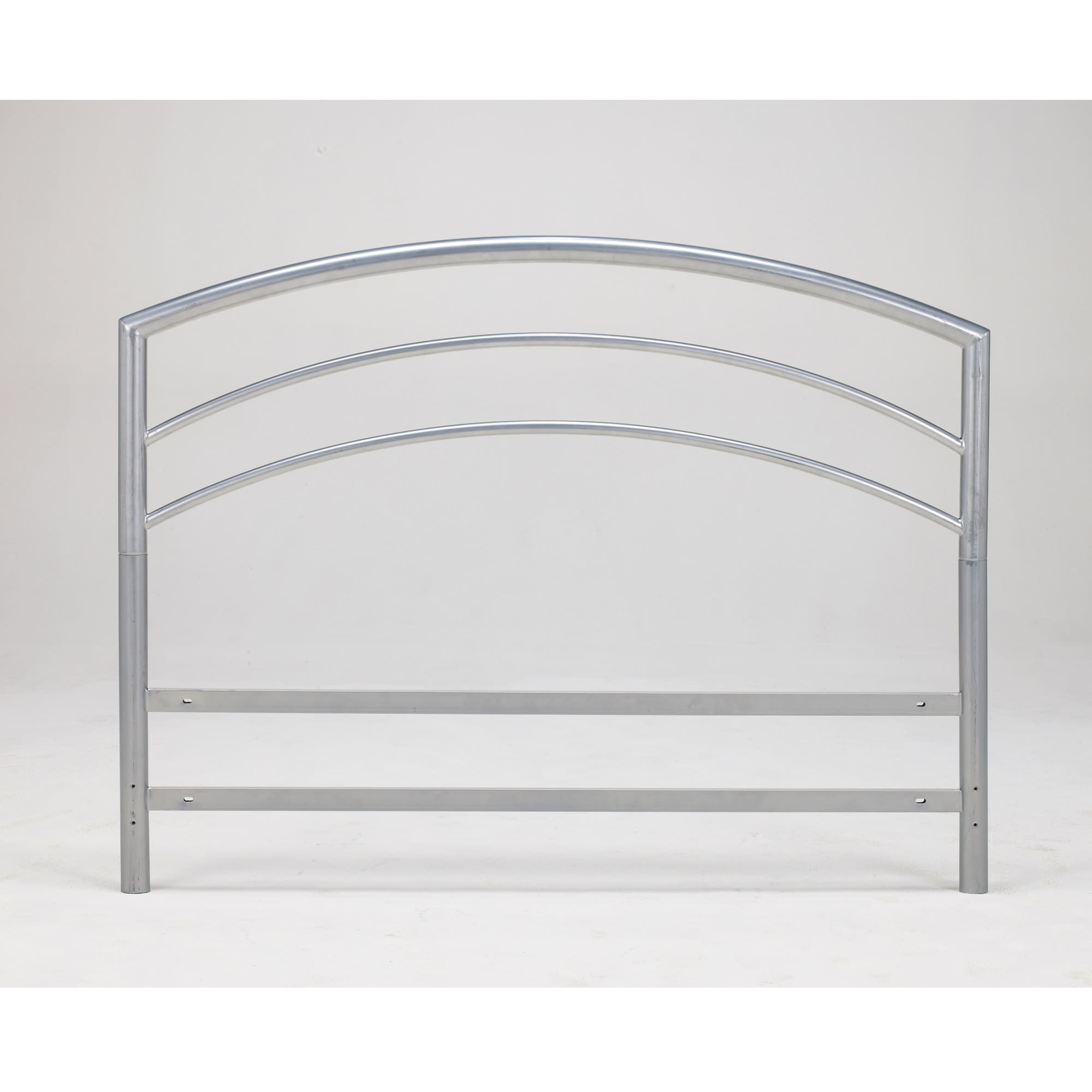 Sleep Sync Arch Flex Double/ Full Silver Metal Headboard - Thumbnail 0