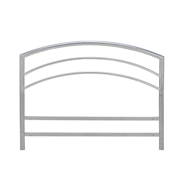 Sleep Sync Arch Flex Double/ Full Silver Metal Headboard