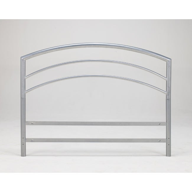 Sleep Sync Arch Flex King Silver Metal Headboard