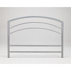 Sleep Sync Arch Flex Eastern King Silver Metal Headboard