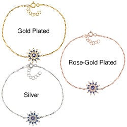 La Preciosa Sterling Silver CZ Sun Shaped 'Evil Eye' Bracelet|https://ak1.ostkcdn.com/images/products/6780423/La-Preciosa-Sterling-Silver-CZ-Sun-Shaped-Evil-Eye-Bracelet-P14319227.jpg?_ostk_perf_=percv&impolicy=medium