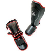 Defender Kick Boxing MMA Style Practice Guard Training Shin Foot Pad