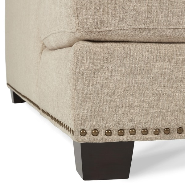 Amazing Abbyson Claridge Fabric Sectional   Free Shipping Today   Overstock.com    14319249