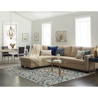 Abbyson Claridge Fabric Sectional