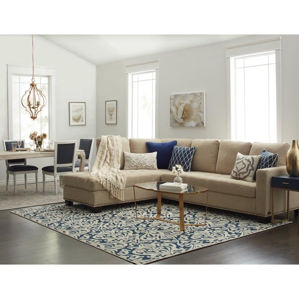 Superieur Abbyson Claridge Fabric Sectional