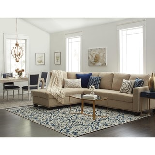 Abbyson Claridge Fabric Sectional