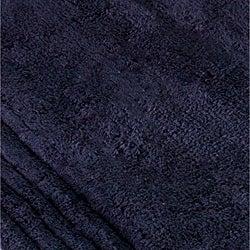 Safavieh Spa 2400 Gram Plush Navy 27 x 45 Bath Rug (Set of 2) - Thumbnail 1