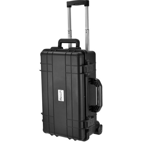 Loaded Gear HD-500 Watertight Black Plastic Hard Case with Foam Liner