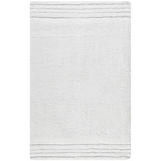 Safavieh Spa 2400 Gram Plush White 27 X 45 Bath Rug (Set Of 2)