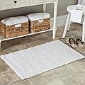Safavieh Spa 2400 Gram Resorts White 21 x 34 Bath Rug (Set of 2)