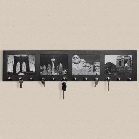 Barska Four Section Picture Frame with Key Holders
