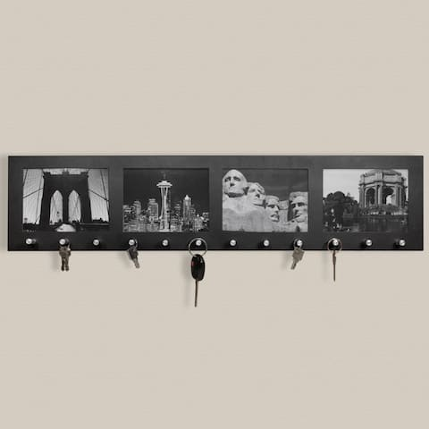 Barska Four Section Picture Frame with Key Holders - N/A