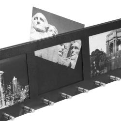Barska Four Section Picture Frame with Key Holders - Thumbnail 2