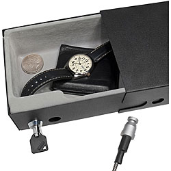 Drawer Style Compact Key Lock Safe