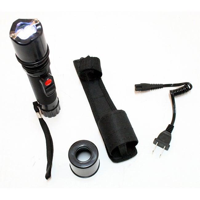 3500 KV Flashlight Style Stun Gun with Led Light