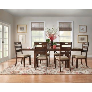 Swindon Rustic Oak Turnbuckle Extending Dining Set by iNSPIRE Q Classic & Rustic Kitchen u0026 Dining Room Sets For Less | Overstock.com