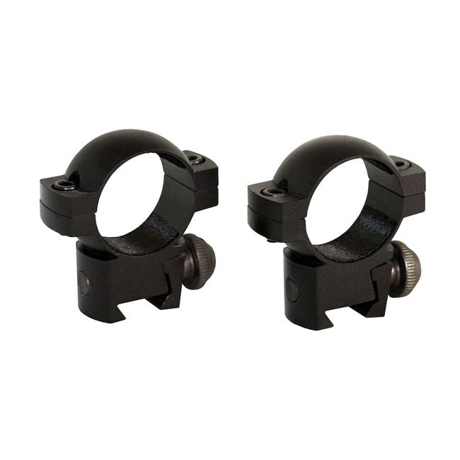 Aim Sports Black One-inch Low-profile 3/8 Dovetail Scope Rings