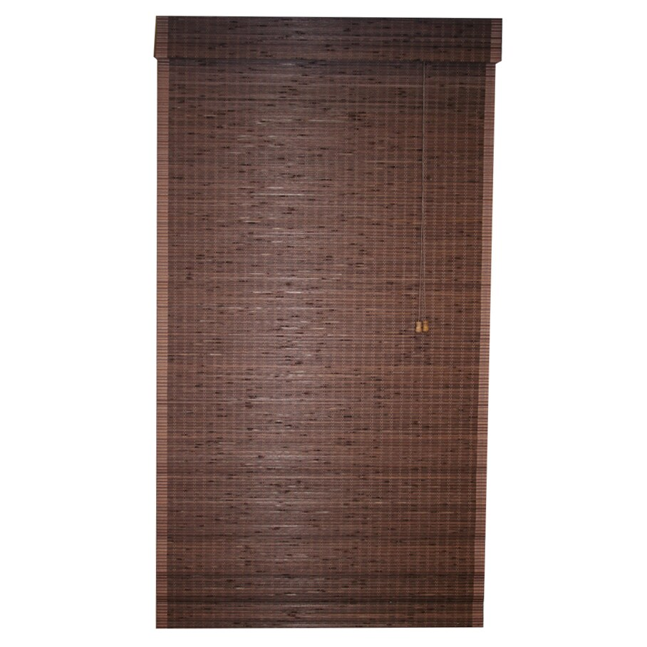 Lewis Hyman Cyprus Bamboo Cocoa Roman Shade