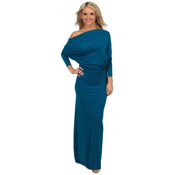 Shop Tabeez Women s Multiway Draped Jersey Dress - Free Shipping ... abc4bc2eaadc
