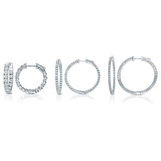 Auriya 14k White or Yellow Gold 3ct TDW 33MM Diamond Hoop Earrings (J-K, I1-I2)|https://ak1.ostkcdn.com/images/products/6780993/P14319701.jpg?impolicy=medium