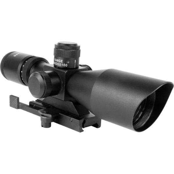 3-9 x 40 Dual Ill. Scope with Cut Sunshade/ P4 Sniper
