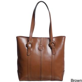 Franco Sarto Park Place Leather Tote Bag
