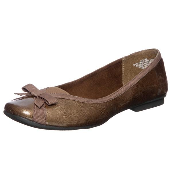 Sam & Libby Women's 'Zama' Square Toe Flats FINAL SALE