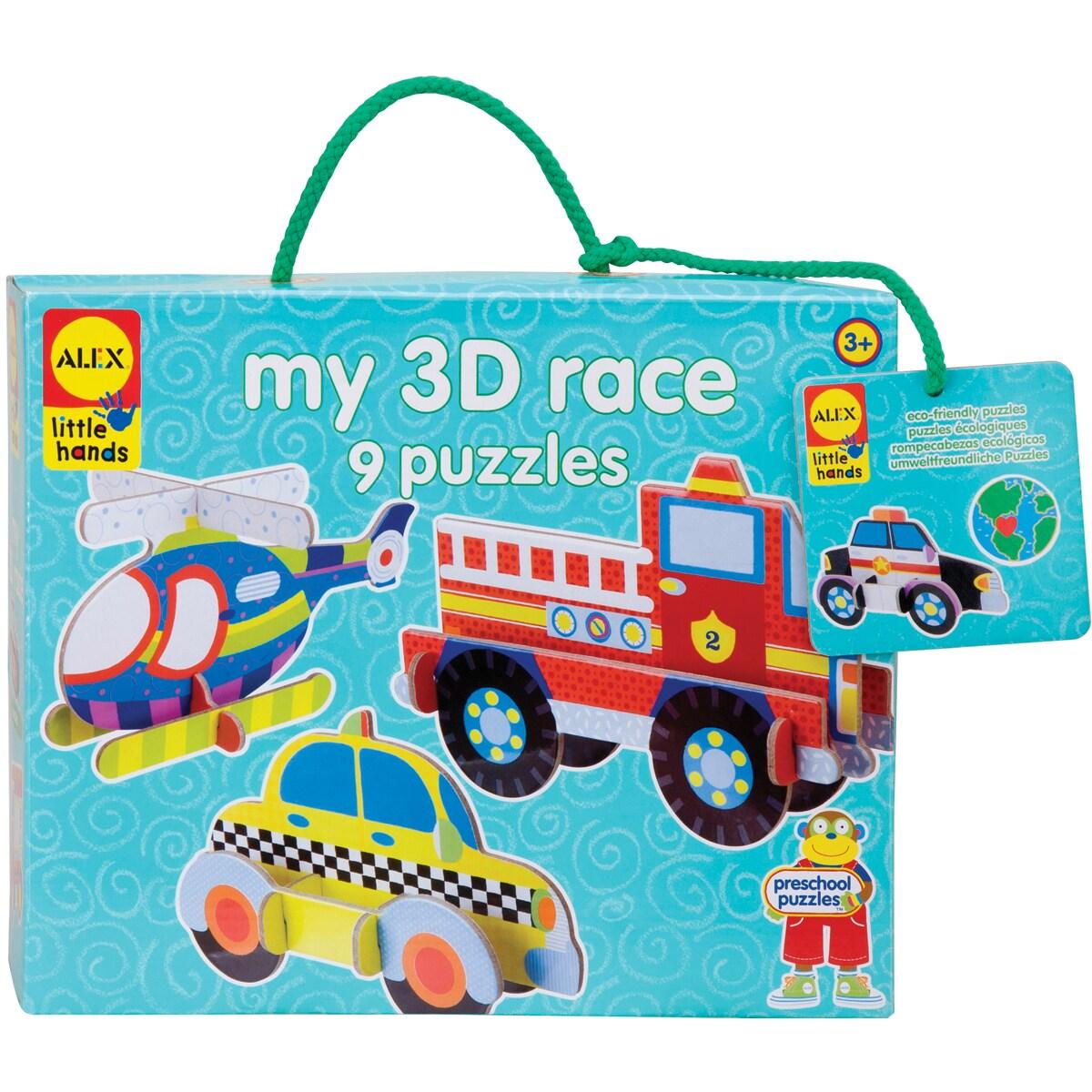 Alex Toys My 3D Race Jigsaw Puzzle