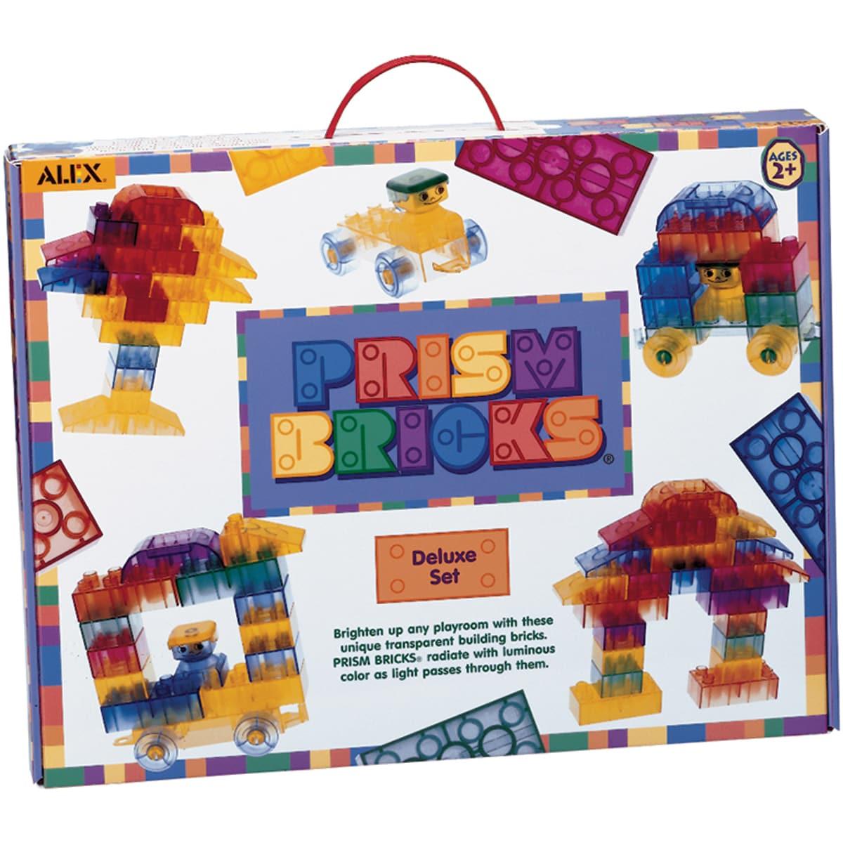 Alex Toys Prism Bricks (Pack of 50)