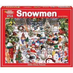 Lori Schory Snowmen 1000-piece Jigsaw Puzzle