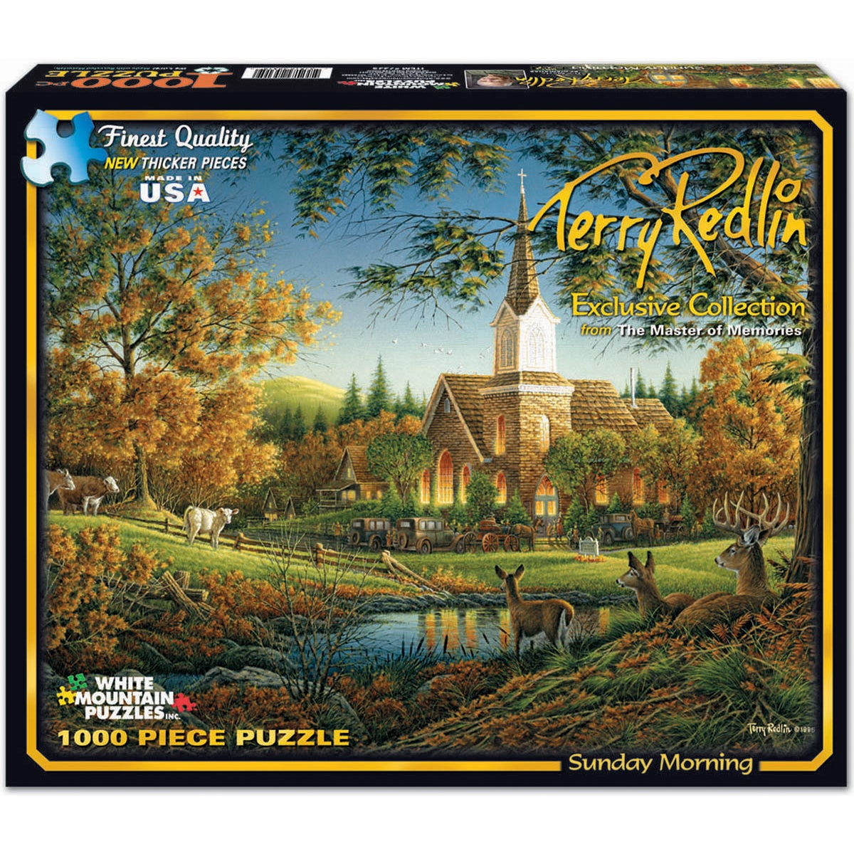 White Mountains Puzzles 1000-piece Jigsaw Puzzle