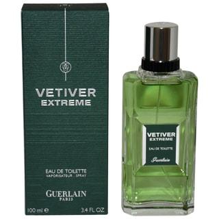 Guerlain Vetiver Extreme Men's 3.4-ounce Eau de Toilette Spray