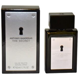 Antonio Banderas The Secret Men's 1.7-ounce Eau de Toilette Spray