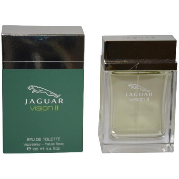 Jaguar Vision II Men's 3.4-ounce Eau de Toilette Spray