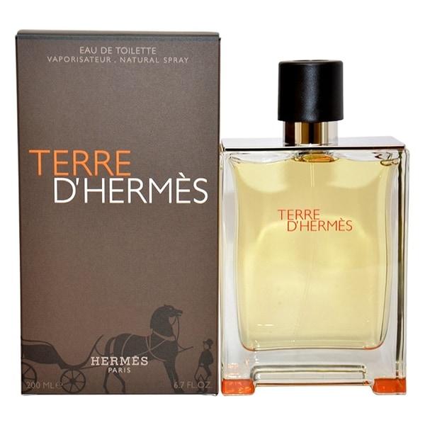 shop hermes terre d 39 hermes men 39 s 6 7 ounce parfum spray. Black Bedroom Furniture Sets. Home Design Ideas