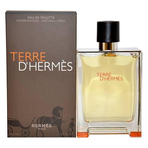 Hermes Terre d'Hermes Men's 6.7-ounce Parfum Spray