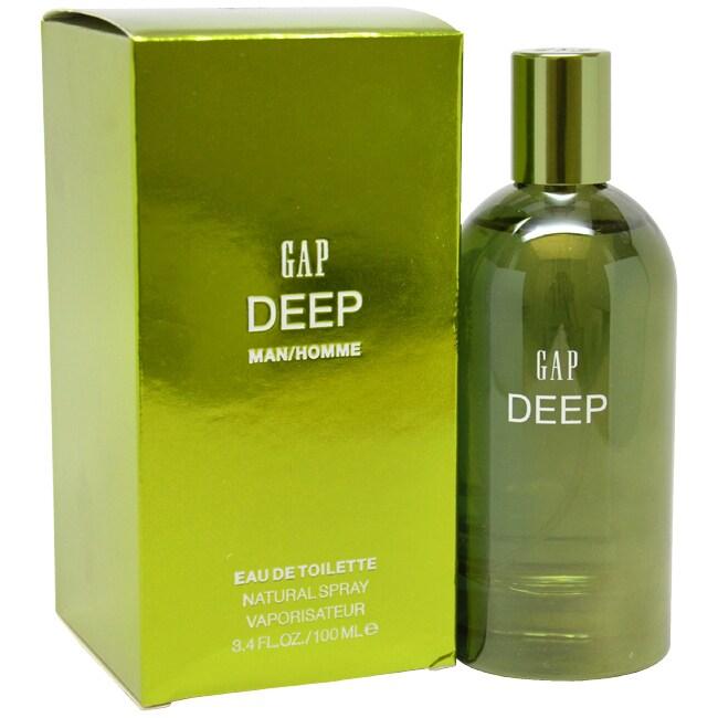 Gap Deep Men's 3.4-ounce Eau de Toilette Spray (3.4-ounce...