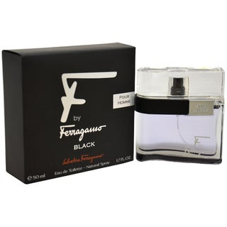 Salvatore Ferragamo F Black Men's 1.7-ounce Eau de Toilette Spray