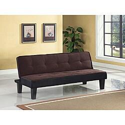 Hamar Chocolate Finish Adjustable Sofa